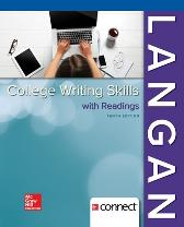 College Writing Skills with Readings - John Langan Zoe Albright