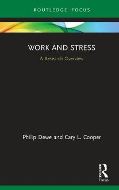 Work and Stress - Philip Dewe