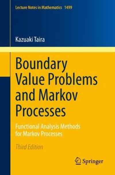 Boundary Value Problems and Markov Processes - Kazuaki Taira