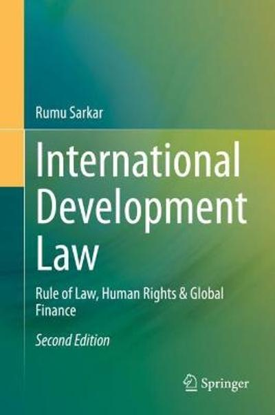 International Development Law - Rumu Sarkar