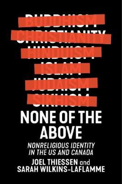 None of the Above - Joel Thiessen