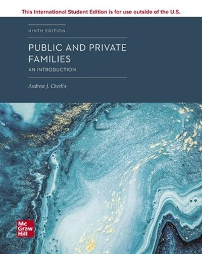 ISE PUBLIC & PRIVATE FAMILIES: INTRO - Andrew Cherlin