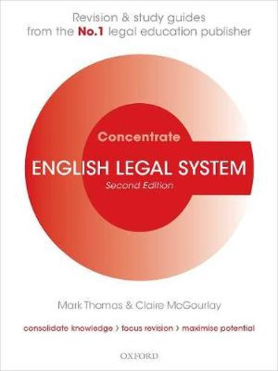 English Legal System Concentrate - MARK THOMAS
