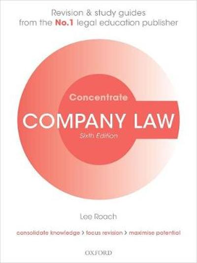 Company Law Concentrate - Lee Roach