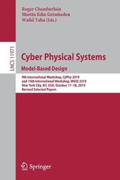 Cyber Physical Systems. Model-Based Design - Roger Chamberlain