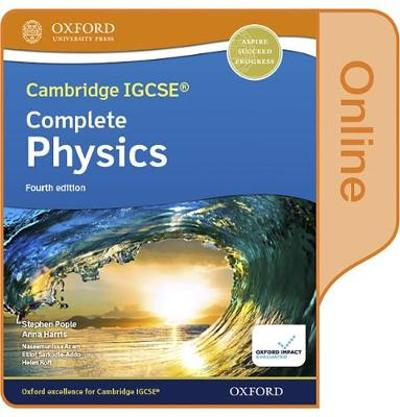 Cambridge IGCSE (R) & O Level Complete Physics: Enhanced Online Student Book Fourth Edition - Stephen Pople