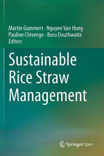 Sustainable Rice Straw Management - Martin Gummert