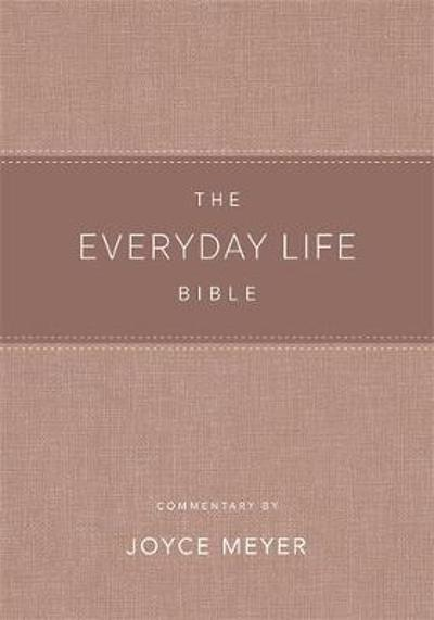 The Everyday Life Bible Blush LeatherLuxe (R) - Joyce Meyer