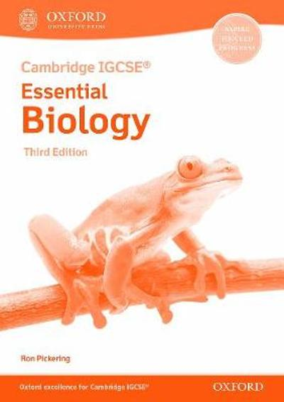 Cambridge IGCSE (R) & O Level Essential Biology: Workbook Third Edition - Ron Pickering