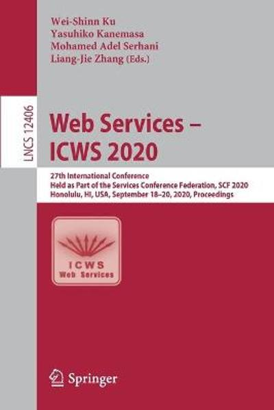 Web Services - ICWS 2020 - Wei-Shinn Ku