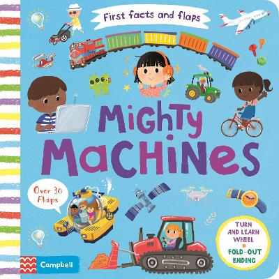 Mighty Machines - Campbell Books