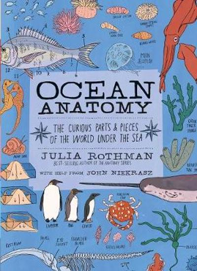 Ocean Anatomy: The Curious Parts & Pieces of the World Under the Sea - Julia Rothman