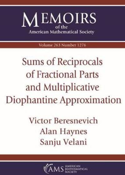 Sums of Reciprocals of Fractional Parts and Multiplicative Diophantine Approximation - Victor Beresnevich