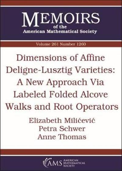 Dimensions of Affine Deligne-Lusztig Varieties: A New Approach Via Labeled Folded Alcove Walks and Root Operators - Elizabeth Milicevic