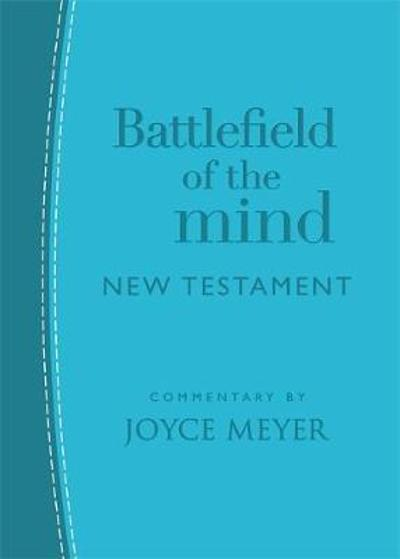 Battlefield of the Mind New Testament (Arcadia Blue Leather) - Joyce Meyer