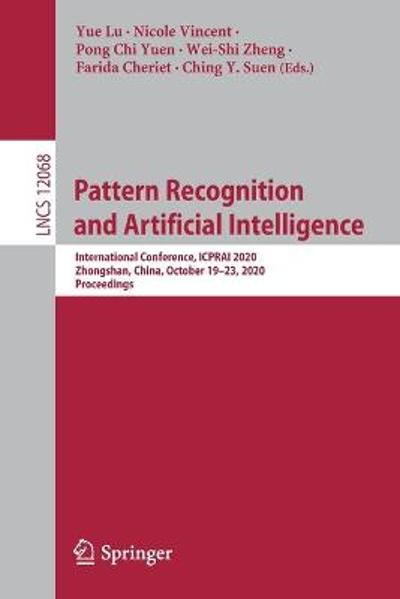 Pattern Recognition and Artificial Intelligence - Yue Lu