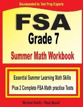 FSA Grade 7 Summer Math Workbook - Michael Smith Reza Nazari