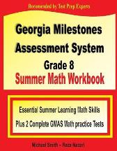 Georgia Milestones Assessment System 8 Summer Math Workbook - Michael Smith Reza Nazari