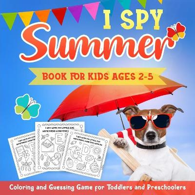I Spy Summer Book for Kids Ages 2-5 - Kiddiewink Publishing