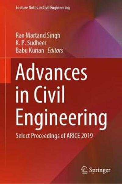 Advances in Civil Engineering - Rao Martand Singh