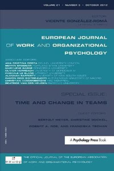 Time and Change in Teams - Bertolt Meyer