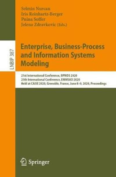 Enterprise, Business-Process and Information Systems Modeling - Selmin Nurcan