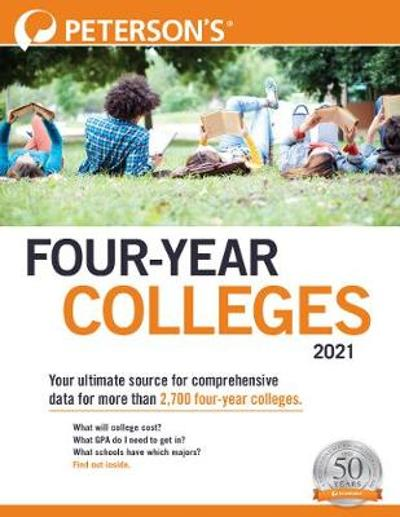 Four-Year Colleges 2021 - Peterson's