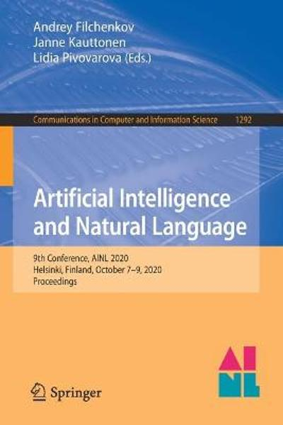 Artificial Intelligence and Natural Language - Andrey Filchenkov