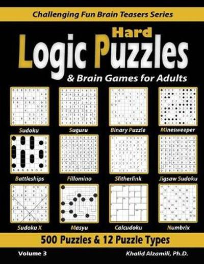 Hard Logic Puzzles & Brain Games for Adults - Khalid Alzamili