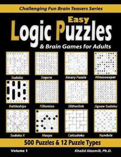 Easy Logic Puzzles & Brain Games for Adults - Khalid Alzamili