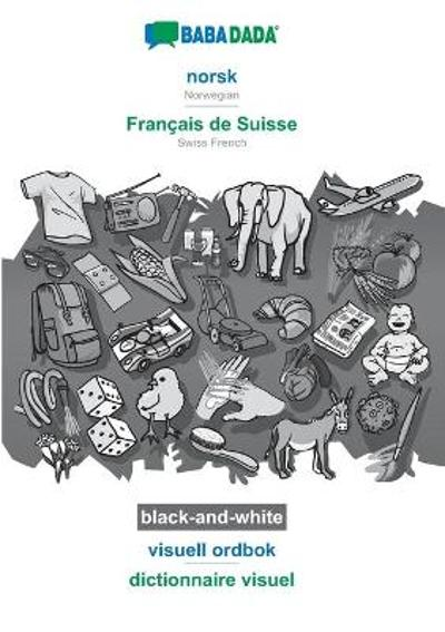 BABADADA black-and-white, norsk - Francais de Suisse, visuell ordbok - dictionnaire visuel - Babadada Gmbh