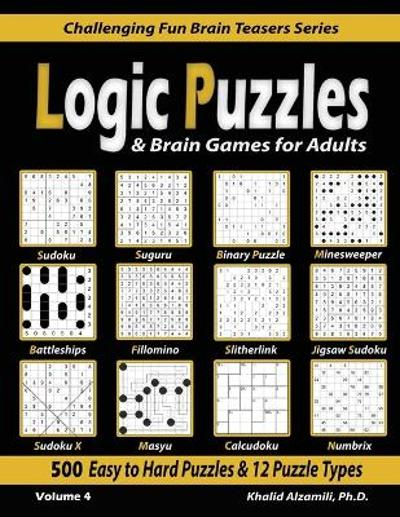Logic Puzzles & Brain Games for Adults - Khalid Alzamili