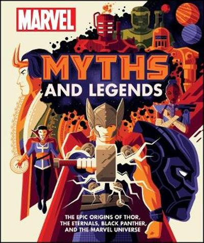 Marvel Myths and Legends - James Hill