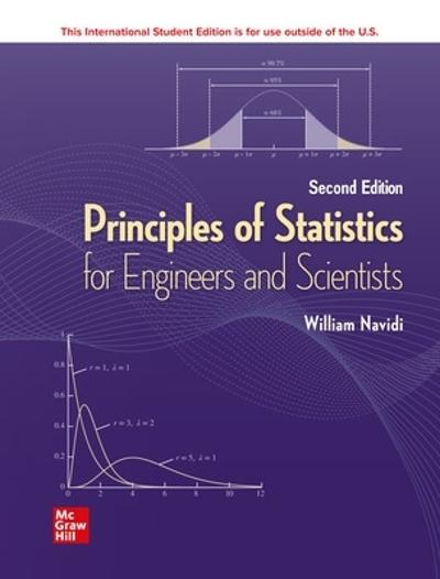 ISE Principles of Statistics for Engineers and Scientists - William Navidi