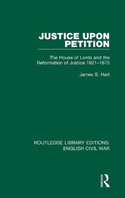 Justice Upon Petition - James S. Hart