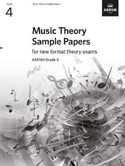 Music Theory Sample Papers - Grade 4 - ABRSM