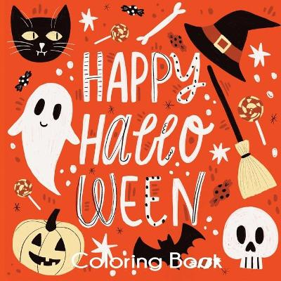 Happy Halloween Coloring Book - Blue Wave Press