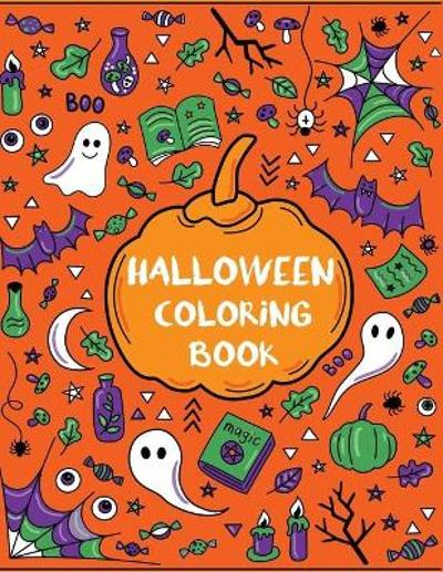 Halloween Coloring Book - Dylanna Press