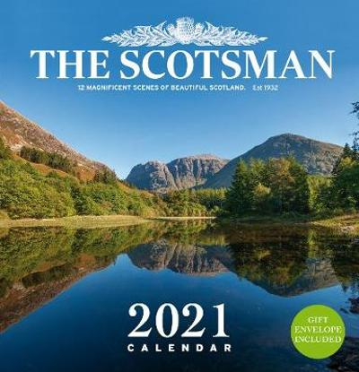 The Scotsman Wall Calendar 2021 - Scotsman Newspaper