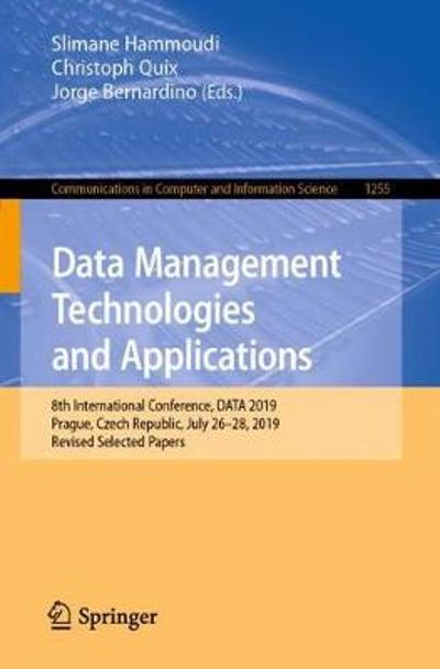 Data Management Technologies and Applications - Slimane Hammoudi
