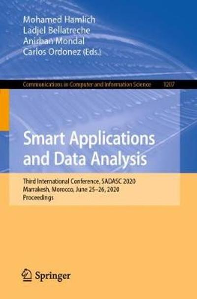 Smart Applications and Data Analysis - Mohamed Hamlich