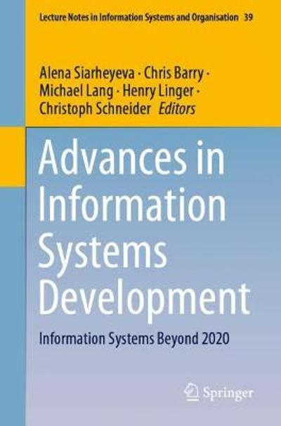 Advances in Information Systems Development - Alena Siarheyeva