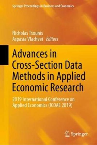 Advances in Cross-Section Data Methods in Applied Economic Research - Nicholas Tsounis