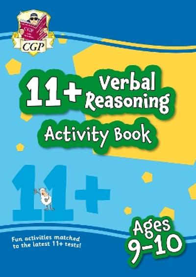 New 11+ Activity Book: Verbal Reasoning - Ages 9-10 - CGP Books