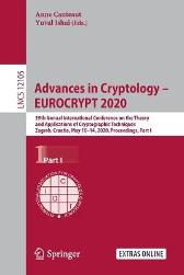Advances in Cryptology - EUROCRYPT 2020 - Anne Canteaut Yuval Ishai