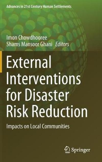 External Interventions for Disaster Risk Reduction - Imon Chowdhooree