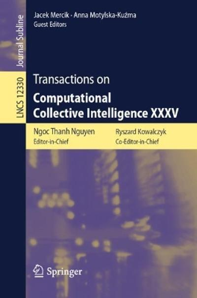 Transactions on Computational Collective Intelligence XXXV - Ngoc Thanh Nguyen