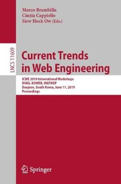Current Trends in Web Engineering - Marco Brambilla
