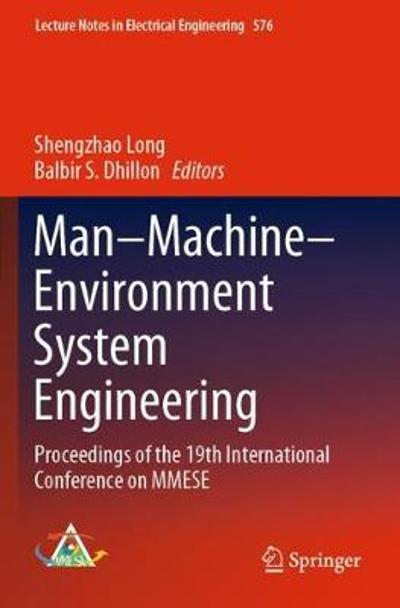 Man-Machine-Environment System Engineering - Shengzhao Long