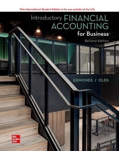 ISE Introductory Financial Accounting for Business - Thomas Edmonds